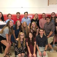 2018-2019 Newspaper Staff